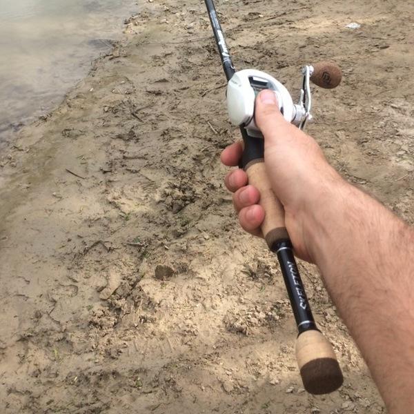 A photo of Gunner Newberry's catch