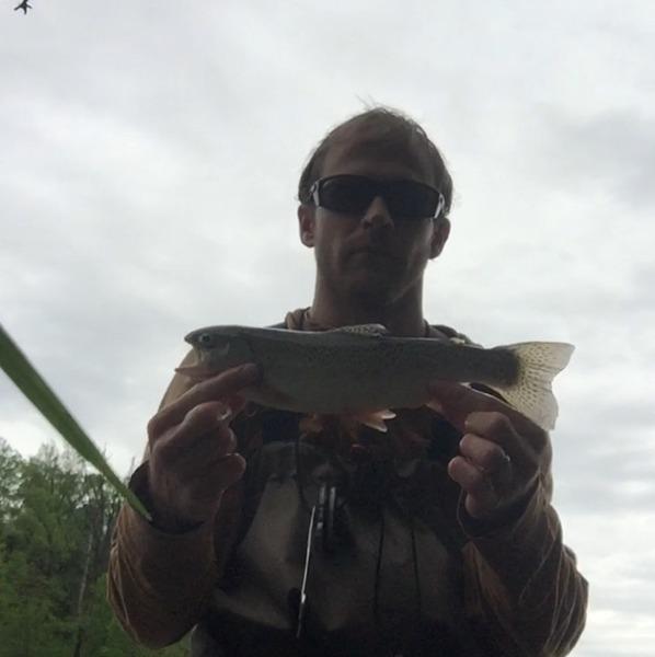 A photo of david david's catch