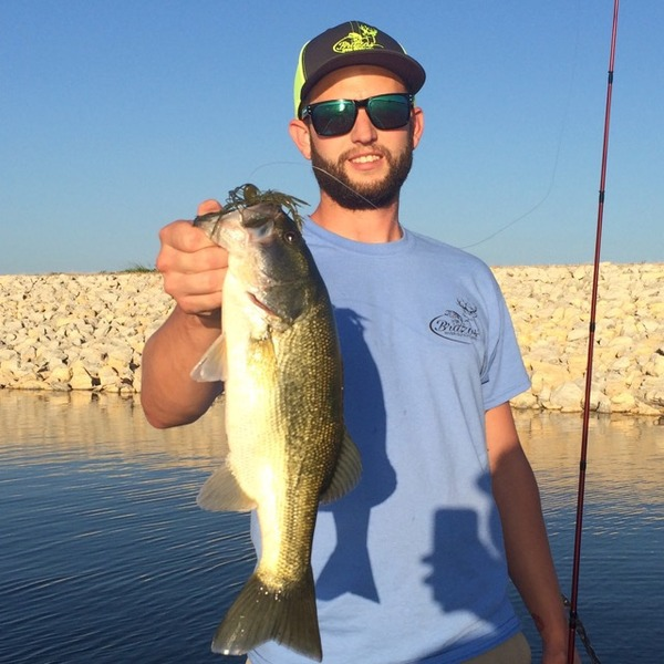A photo of Robert Bandy's catch