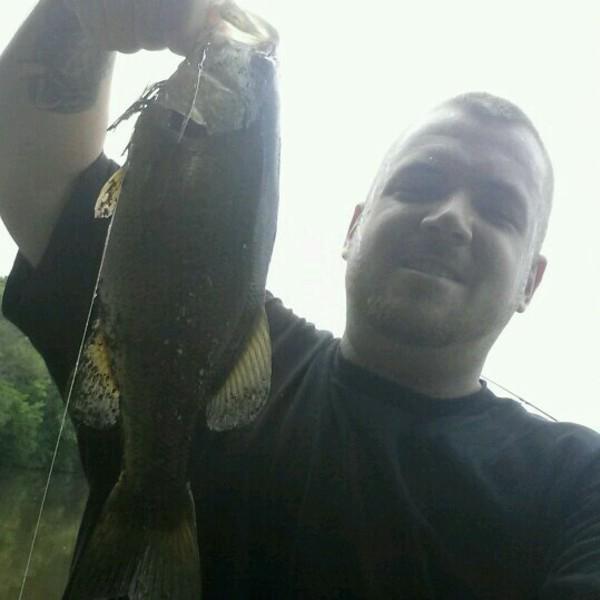 A photo of Josh Parker's catch