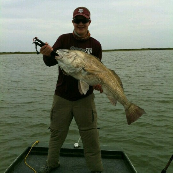 A photo of Geoffrey Polefko's catch