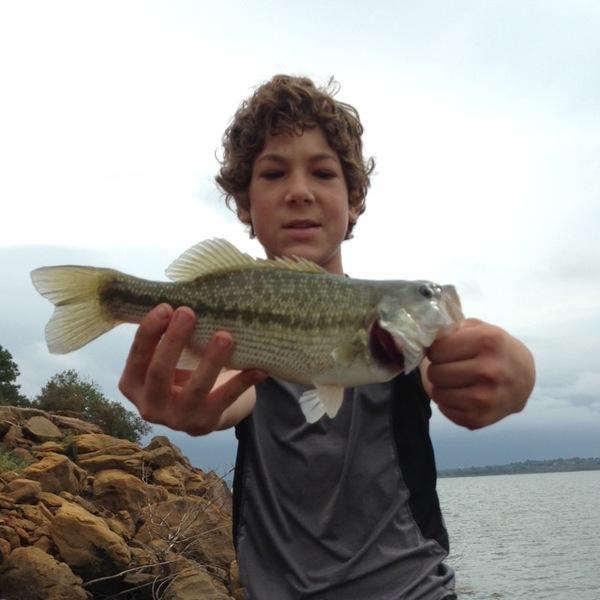 A photo of Bob Bob's catch