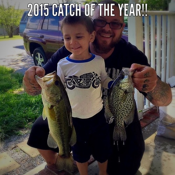 A photo of Tim Knecht's catch