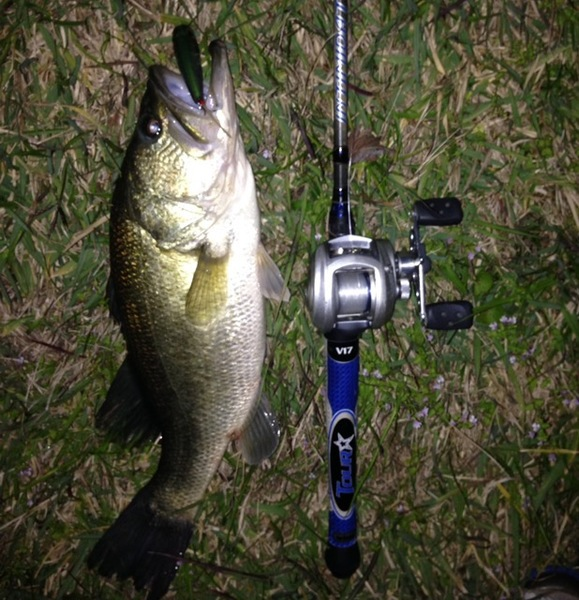 A photo of Jacob Breaux's catch
