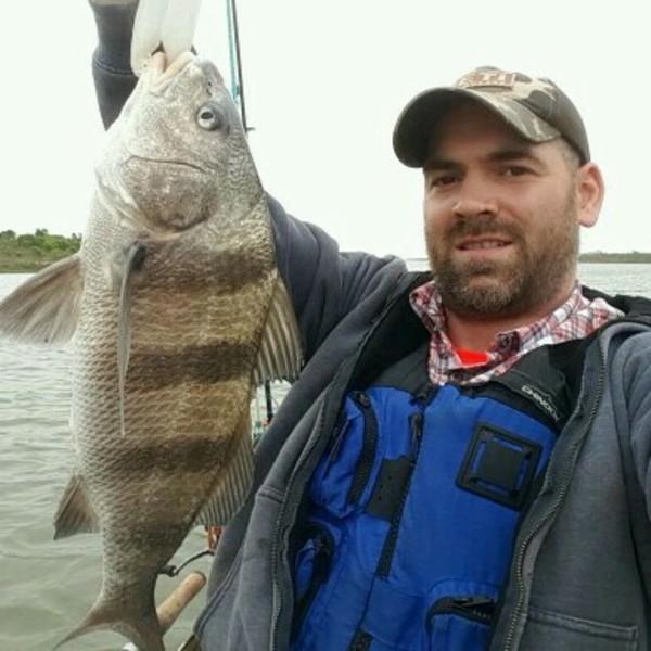 A photo of John Tellier's catch