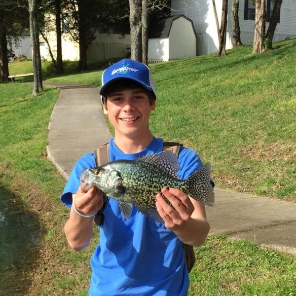 A photo of Mason Cizek's catch