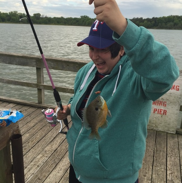 A photo of Paul's catch