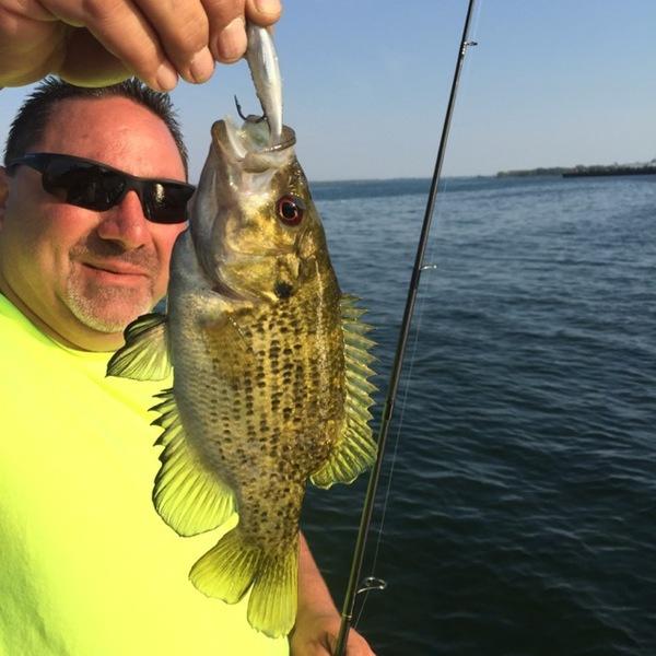 A photo of Chuck LaBruna's catch