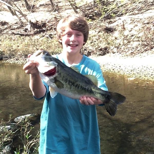 A photo of Carter Hoogendam's catch