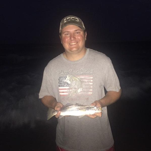 A photo of Jesse Webb's catch