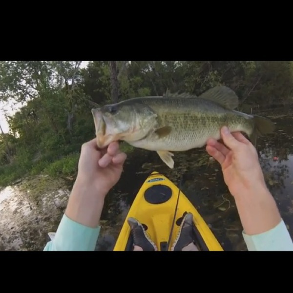 A photo of Austin Buley's catch