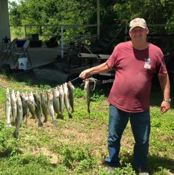 A photo of michael michael's catch