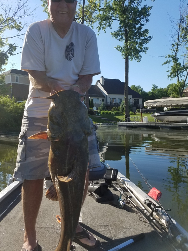 A photo of larry caudill's catch