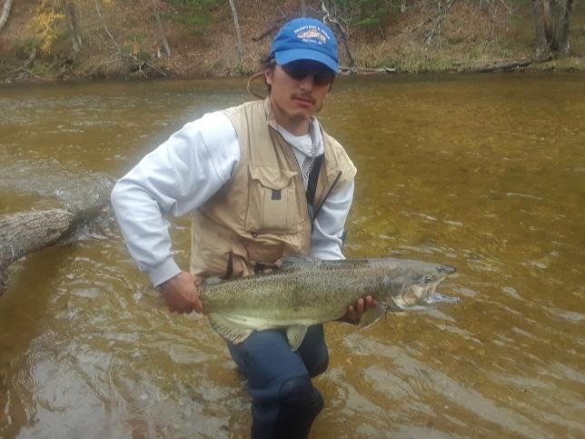 Pere Marquette River MI Fishing Reports, Map & Hot Spots