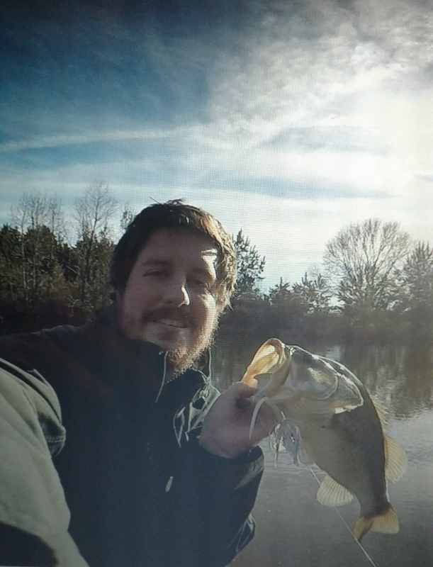 A photo of Sasha Tuttle's catch