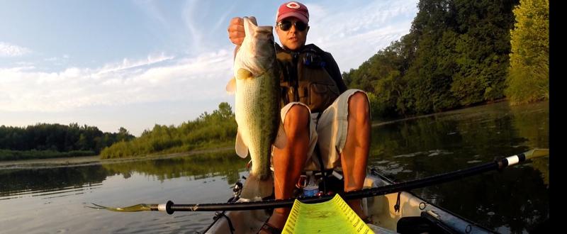 A photo of Josh Crabtree's catch