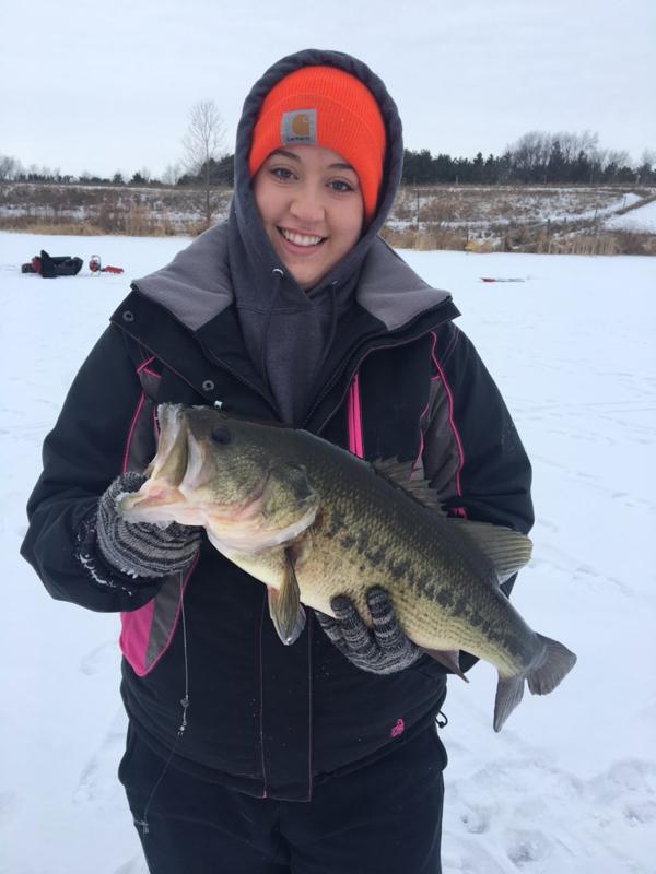 A photo of Monika Buol's catch