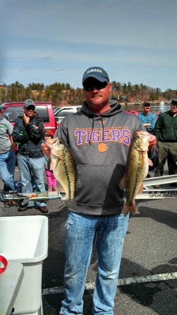 A photo of tyger elton's catch