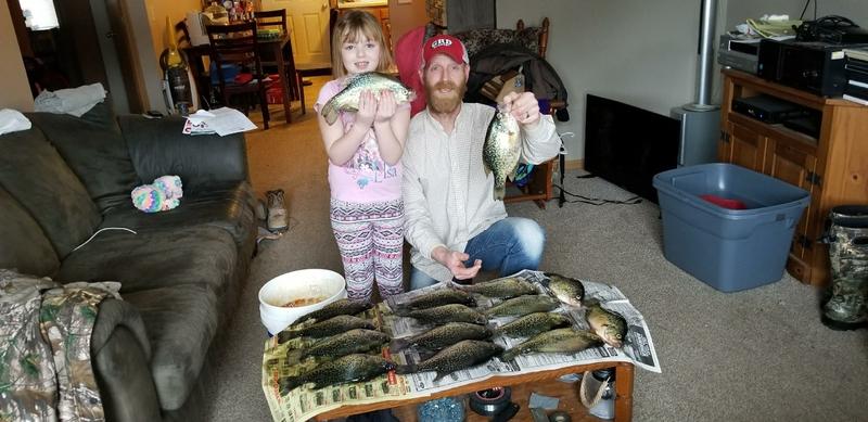 A photo of Michael  Balog's catch