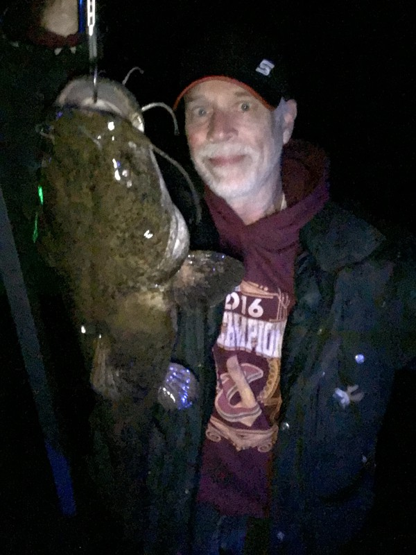 A photo of Marty Murray's catch