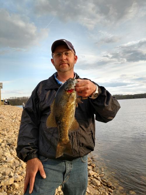 A photo of Clayton Broesch's catch