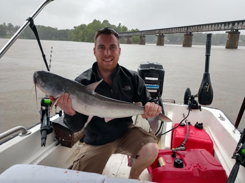 A photo of jesse britt's catch
