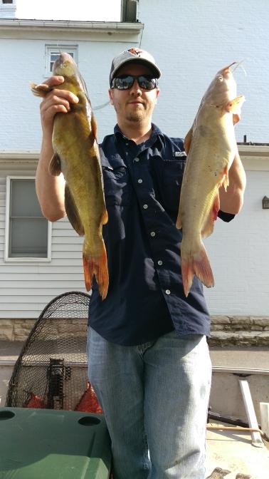 A photo of Jay Bradshaw's catch