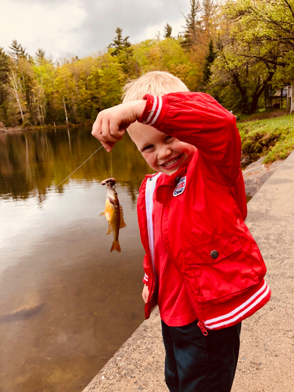 A photo of Josh Emerson's catch