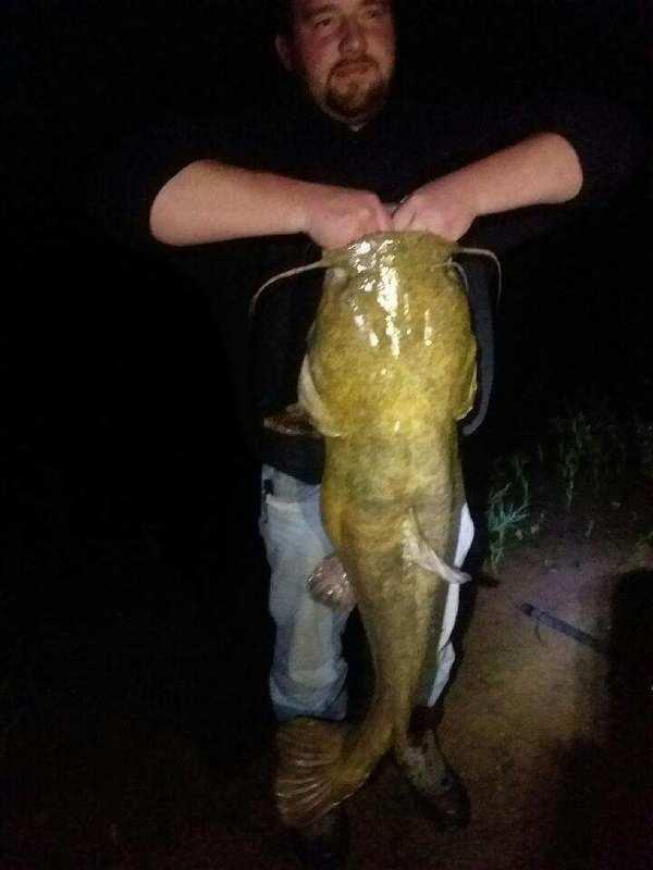 A photo of Bob Jefferis's catch