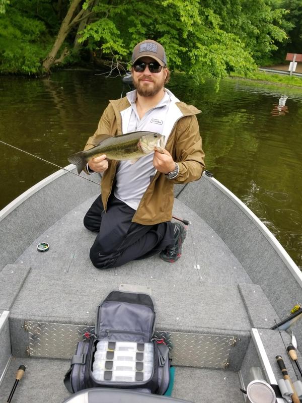 A photo of Brady Johns's catch