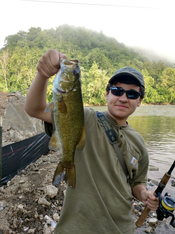 French Broad River (Town of Marshall) NC Fishing Reports