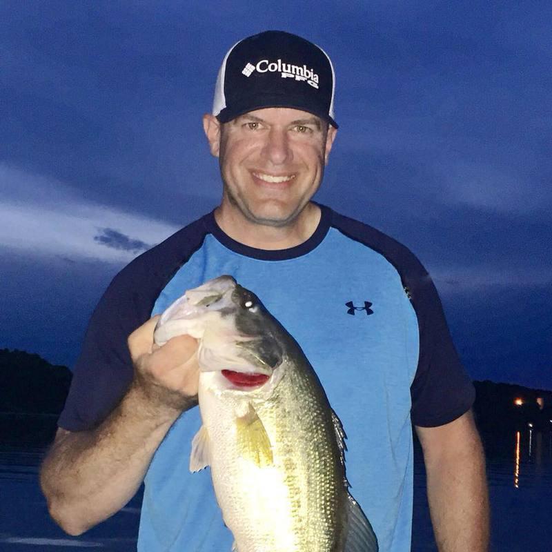 A photo of Jason White's catch