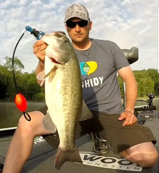 A photo of Derek Stitt's catch