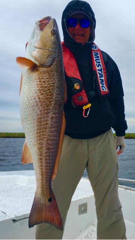 A photo of Eddie Gardner's catch