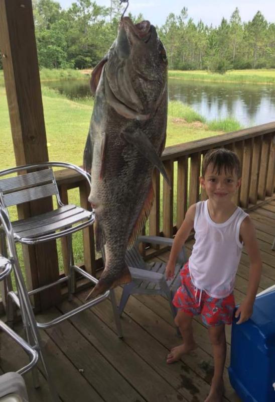 A photo of Joy  McAllister 's catch