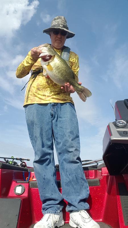 A photo of Russ Emanuel's catch