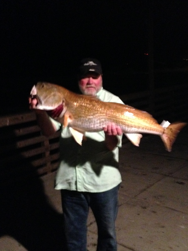 A photo of Hank Hanscheck's catch