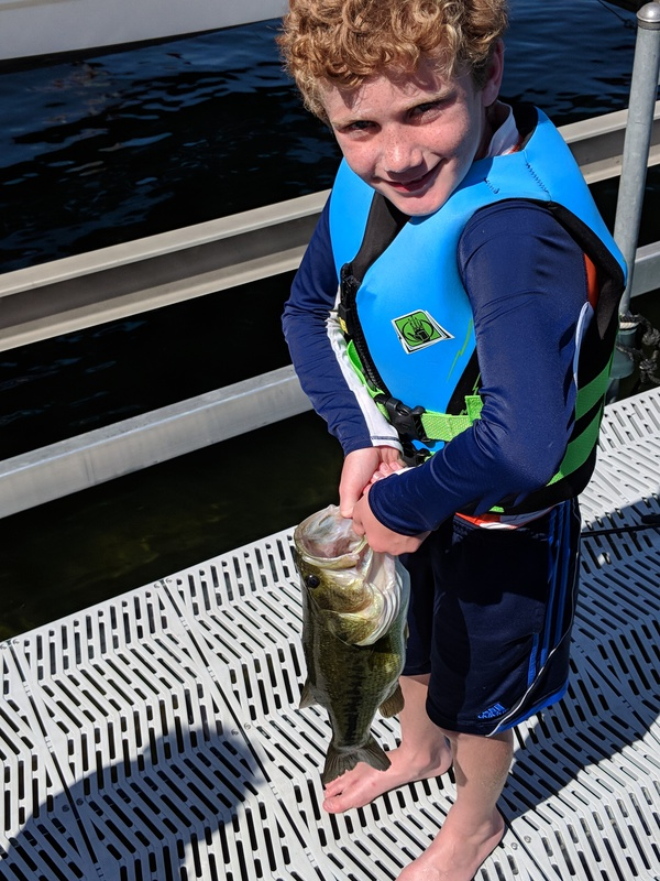 A photo of Jim Callahan's catch