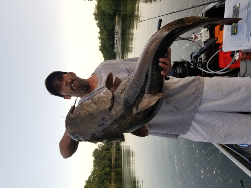 A photo of Kerry Dodson's catch