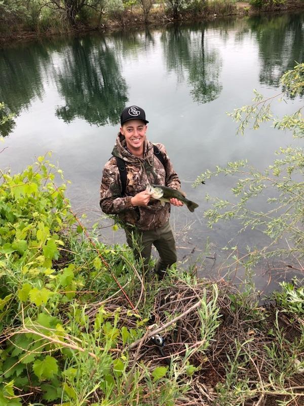A photo of Andrew Diamond's catch