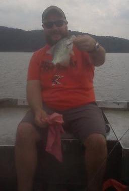 A photo of Adam Windsor's catch