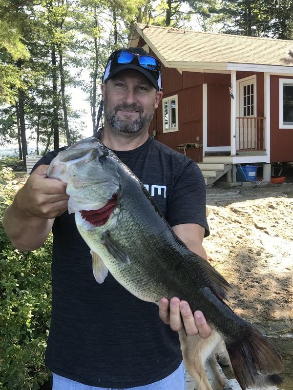 A photo of Jeff Routhouska's catch