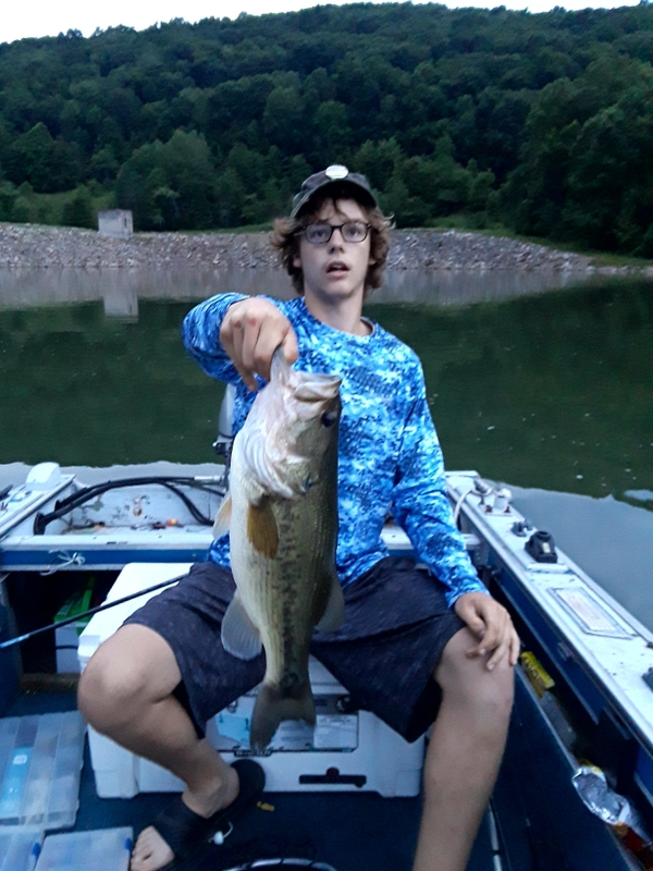 A photo of Rob Davidson's catch