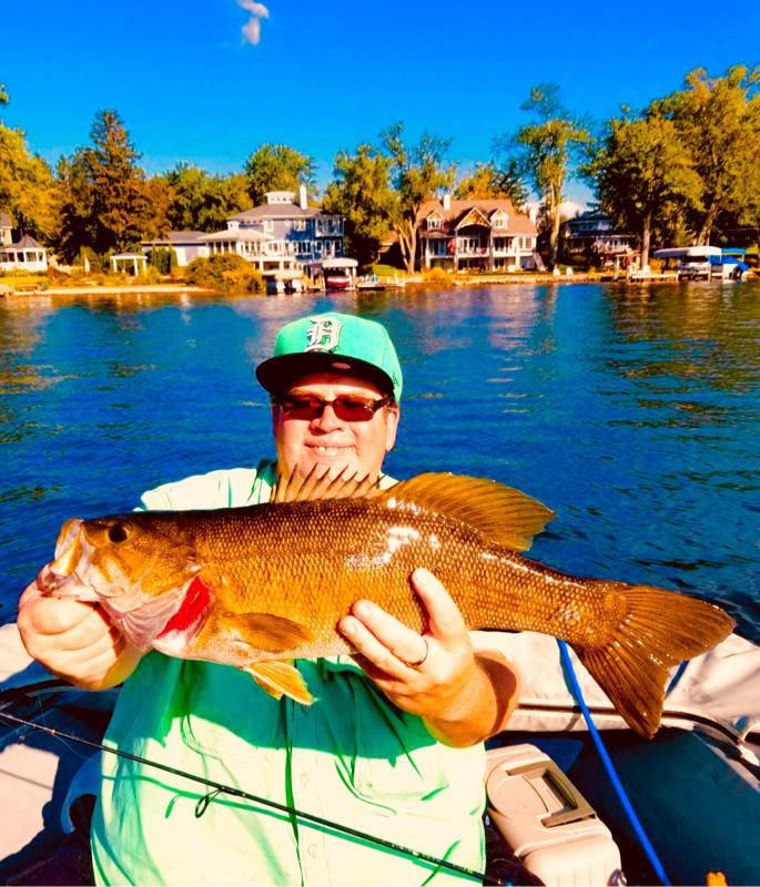 A photo of Scott Allan's catch