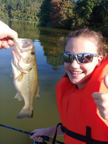 A photo of Jason Thompson's catch