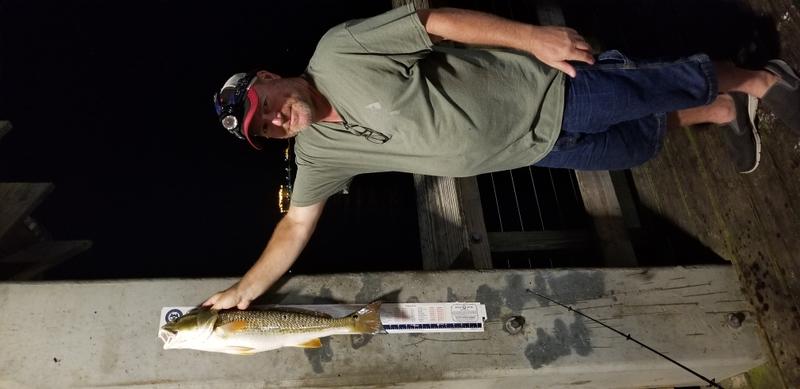 A photo of Jeffrey  Dedeaux's catch