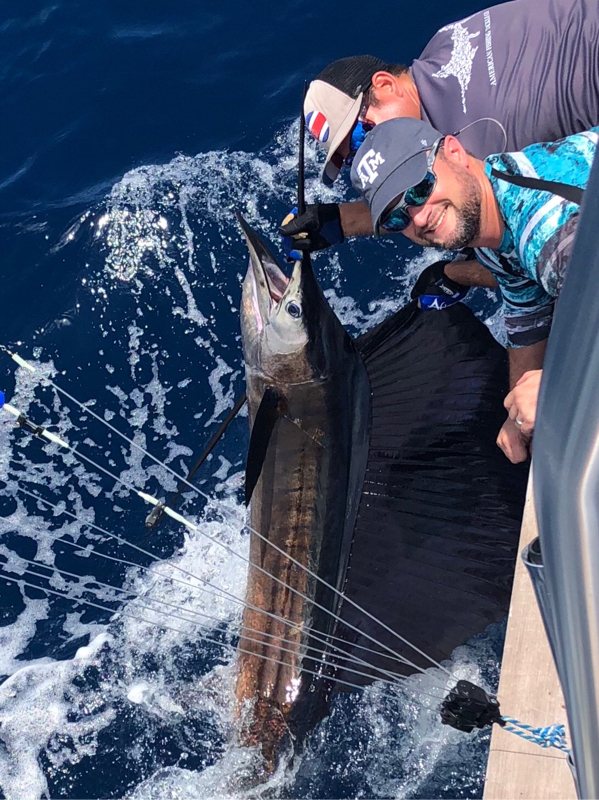 A photo of David Fairchild 's catch