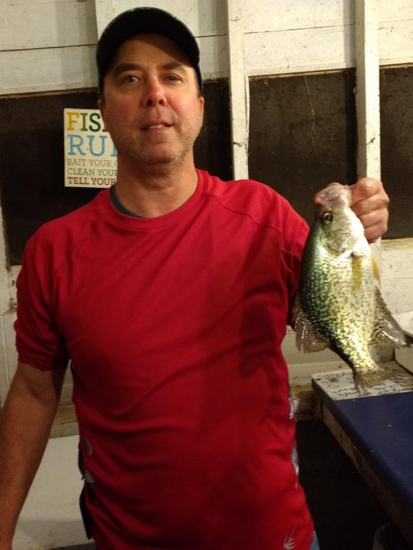 A photo of Jay Johnson's catch
