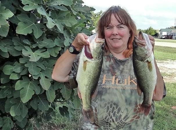 A photo of Dawn Gordon's catch