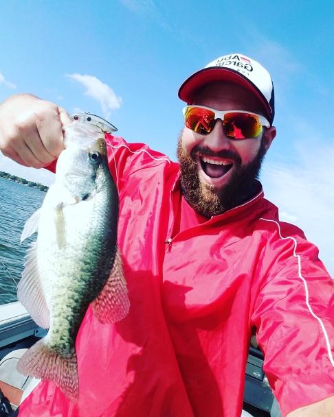 A photo of Markus Stevenson's catch